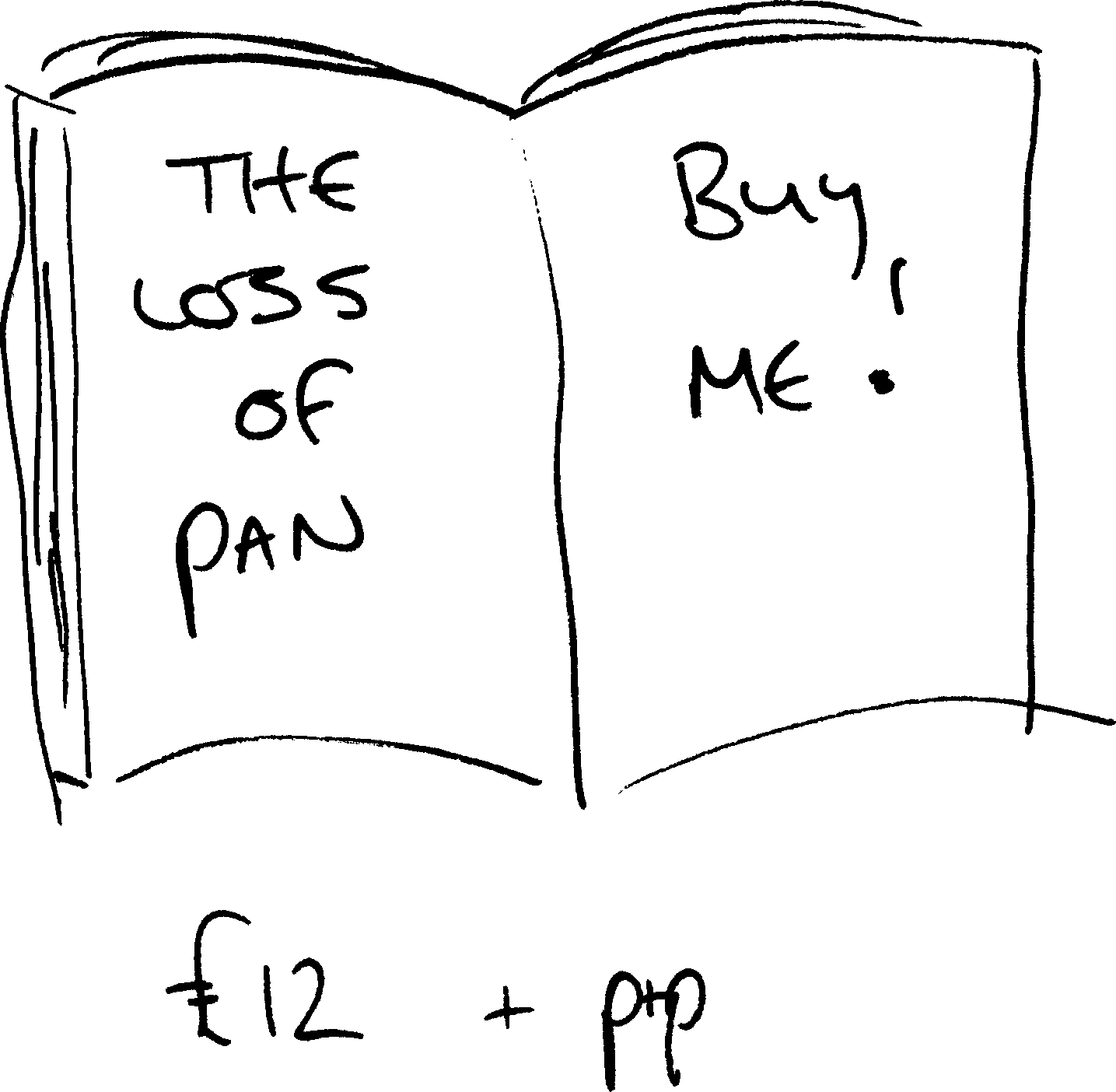 The Loss Of Pan book - buy me!